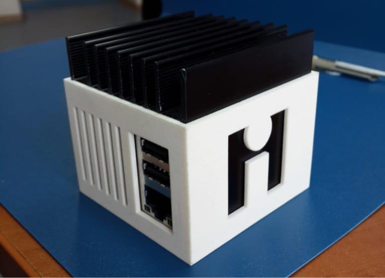 Сервер intraHouse на базе Odroid U2