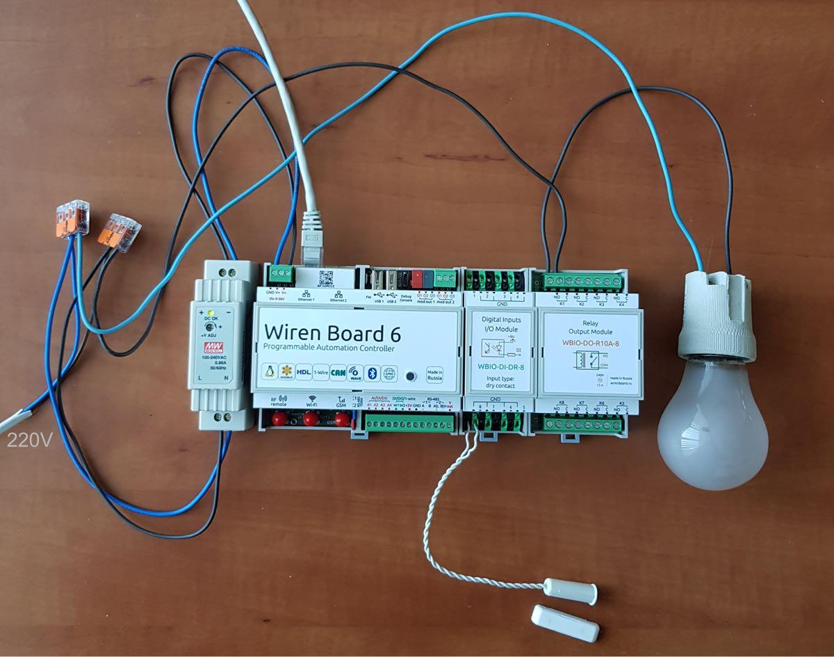 Контроллер Wiren Board 6
